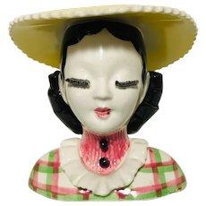 Vintage Betty Lou Nichols inspired Headvase
