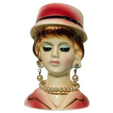 Vintage Inarco Miniature Headvase