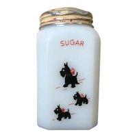McKee Scottie Dog Sugar Range Shaker