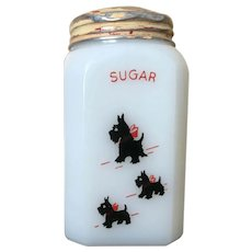 McKee Scottie Dog Sugar Range Shaker