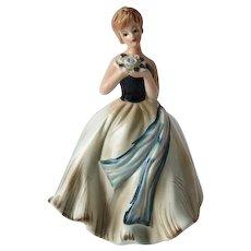 Vintage Beauty Napco Lady Figurine Planter