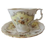 Royal Albert September Song Tea Cup and Saucer