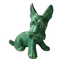 SylvaC Pottery Scottish Terrier Scottie Dog #1414