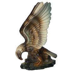 Vintage American Eagle Hand Painted Porcelain Figurine