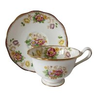 Early Royal Albert EVESHAM Pattern Teacup and Saucer