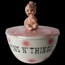 Adorable Norcrest Pins n' Things Baby Dresser Box