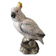 Vintage Cockatoo Figurine - Shafford Bird Collection