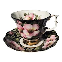 Royal Albert Alberta Rose Teacup and Saucer