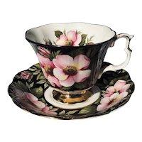 Royal Albert Alberta Rose Teacup and Saucer