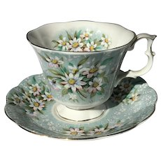 "Royal Albert ""Saville"" Teacup and Saucer"