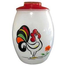 Bartlett Collins Proud Rooster Cookie Jar