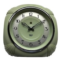 Smith Sectric Sage Green Wall Clock