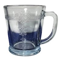 Vintage Fire King Sapphire Blue Philbe Mug