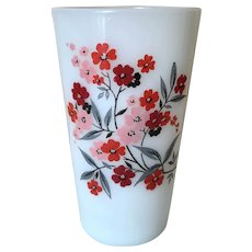 Fire King Primrose Water Tumbler 11 oz.