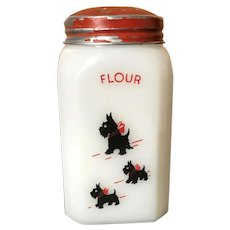 McKee Scottie Dog Flour Range Shaker
