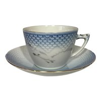 Bing & Grondahl Seagull Teacup and Saucer #475