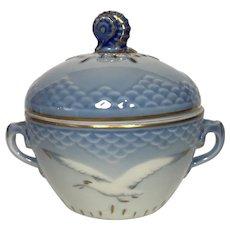 Bing & Grondahl Seagull Covered Sugar Bowl #593