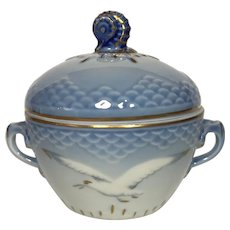 Bing & Grondahl Seagull Covered Sugar Bowl #593