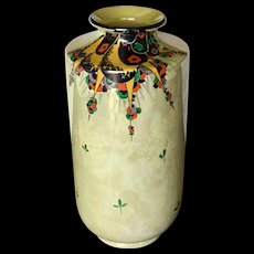 Stunning Shelley Art Deco Lustre Vase c. 1920's