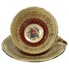 Beautiful Aynsley Tea Cup and Saucer