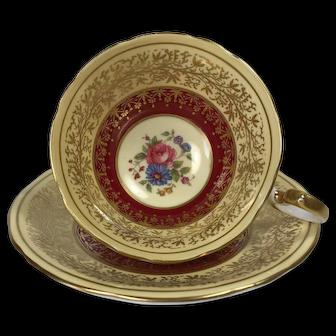 Beautiful Aynsley Tea Cup and Saucer
