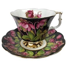 Royal Albert Pitcher Plant Tea Cup and Saucer