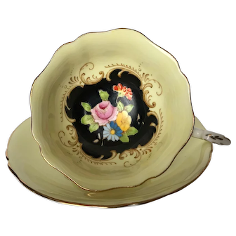 Paragon Hand Painted Floral Tea Cup & Saucer