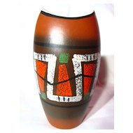 Vintage Dumler & Breiden West German Modernist Vase