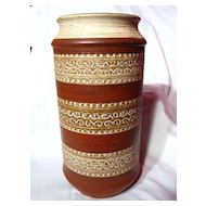 Dumler and Breiden West Germany Sgraffito Vase