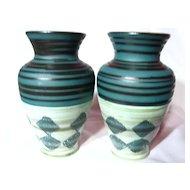 Dumler & Breiden Retro Vase Pair