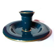 Hall China Canadian National Hotel CNR Candle Holder