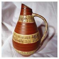 Vintage Dumler & Brieden West German Pitcher Vase