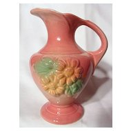Hull Sunglow Pink Ewer ~ Model 90