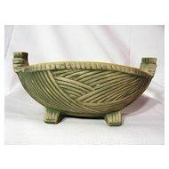 Vintage McCoy Basket Line Planter