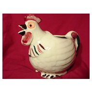 Shawnee Chanticleer Rooster Pitcher