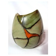 B.C. Ceramics Patio Line By Herta Vase