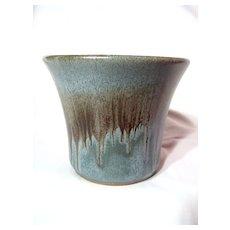 Blue Mountain Pottery Slate Flower Pot