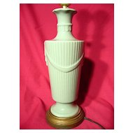Abingdon Pottery Drape And Tassel Table Lamp