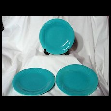 """Red Wing Gypsy Trail Fondoso 8 1/2"""" Luncheon Plate ~ 3 Available"""