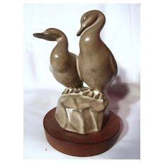 B.C. Ceramics Wildlife Series By Herta Loons Figurine