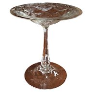 American Brilliant Cut Tall Serving Compote