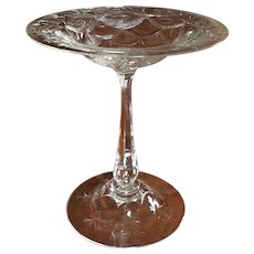 American Brilliant Cut Glass Tall Serving Compote