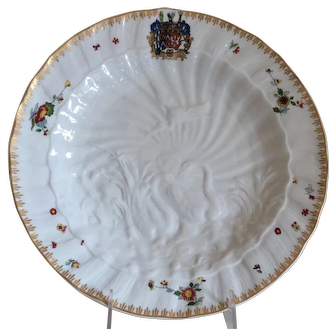 Mottahedeh Swan Service Cabinet/ Dinner Plate