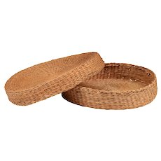 Native American Sewing Basket