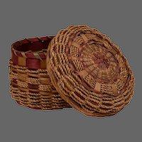 Native American Sewing Basket