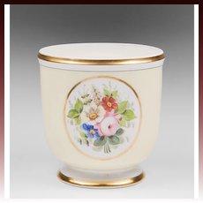 Vintage Portuguese Vista Alegre Porcelain Cache Pot