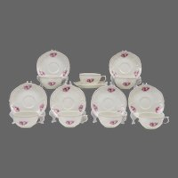 14 Pc. Set of Rosenthal Sansoucci Demitasse Cups & Saucers