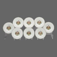 Set of 8 Wedgwood Windermere Luncheon Plates