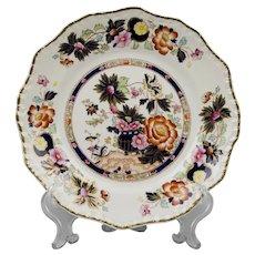 Masons Patent Ironstone Salad Dish, Pattern Mandarin