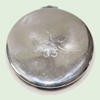"""Antique Sterling Silver Hallmarked Whiting Box Dated """"03"""""""